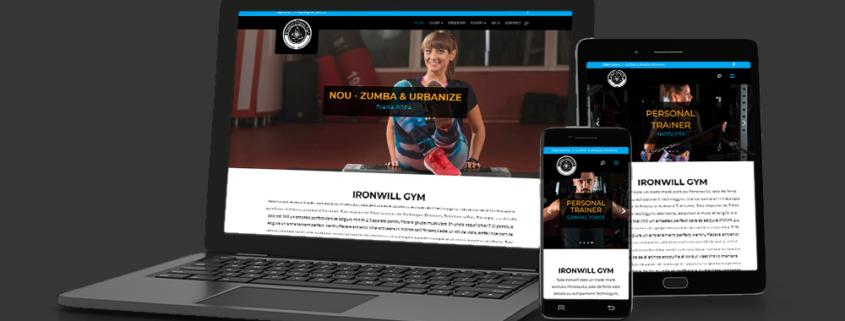 IronwillGym.ro | Web Design Brasov | Web-Arts.ro