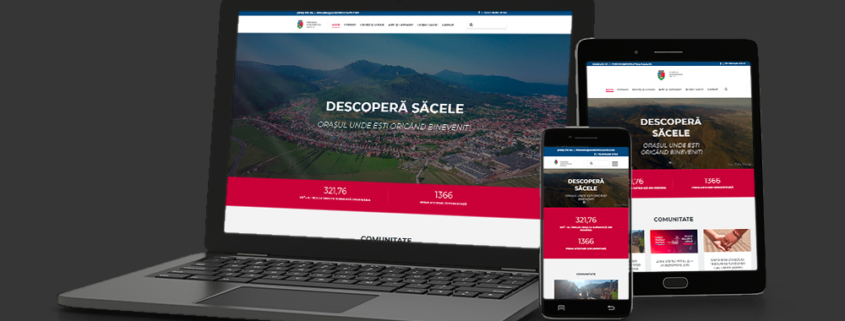 MunicipiulSacele.ro | Web Design Brasov | Web-Arts.ro